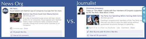 Wie Journalisten Facebook sinnvoll nutzen könnten
