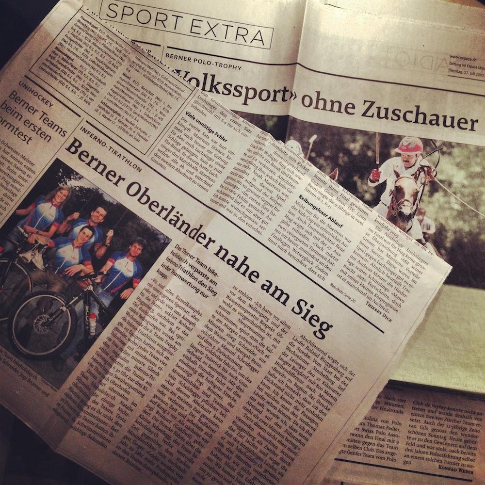 «Sport extra» – Berner Zeitung