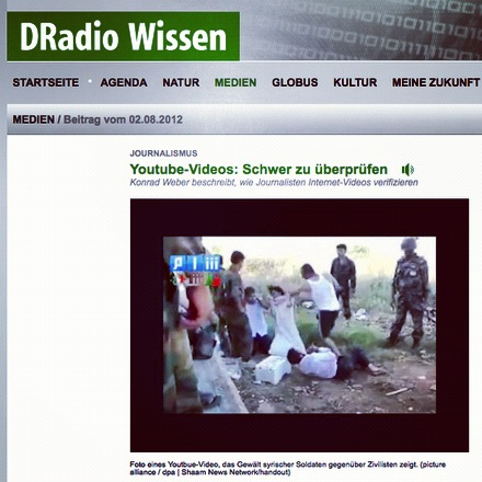 Youtube-Verifikation, DRadio Wissen
