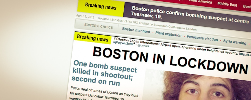Boston-Anschläge beweisen: Journalisten haben neue Aufgaben