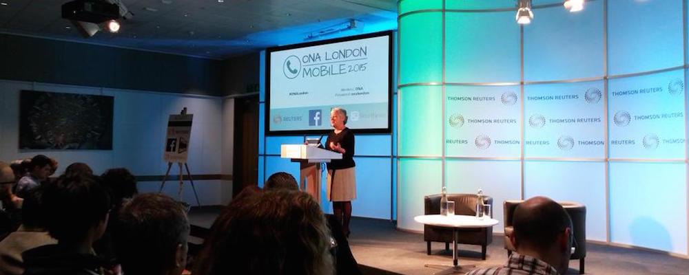 Journalismus auf Mobilgeräten – Zusammenfassung von #ONALondon
