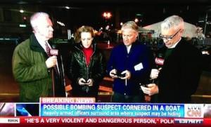 TV vs. online – Live-Sendung von CNN.
