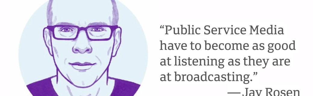 #RefoundingPublicMedia – öffentlich-rechtliche Medien neu denken